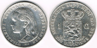 1 Gulden 1897 Niederlande Niederlande, Wil...