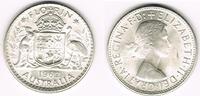 Florin (2 Shilling) 1962 Australien Australia, 1 Florin silver, Elisabe... 10,00 EUR  +  7,00 EUR shipping