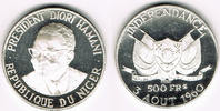 500 Francs 1960 Niger Niger, silver commemorative coin, independence, p... 30,00 EUR  +  9,00 EUR shipping