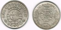 20 Escudos 1955 Mosambik - Portugiesische Kolonie Mozambik (Mocambique)... 9,00 EUR  +  7,00 EUR shipping