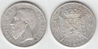 50 Centimes 1866 Belgien Belgien, König Al...