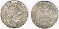 1 Florin (Gulden) 1889 Österreich Franz Jo...