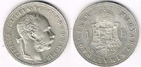 1 Forint 1889 Haus Habsburg - Ungarn Franz...