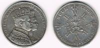 Taler 1861 Preußen Silbergedenkmünze, Wilh...