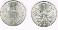 5 DM 1958 D BRD Bundesrepublik Deutschland...