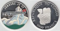 1000 Francs 1995 Republik Kongo Kongo 1995...