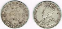 50 Cents  Kanada - Neufundland new foundland, 50 Cents 1918, george V.,... 15,00 EUR  +  7,00 EUR shipping