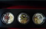3 x 500 Francs 2013 Ruanda Ruanda, 3er-Mün...