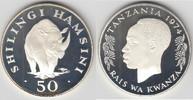 50 Shilingi (50 Shillings) 1974 Tansania tanzania, 50 Shillings silver ... 35,00 EUR  +  9,00 EUR shipping