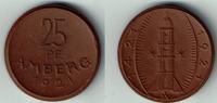 25 Pfennig 1921 Notmünzen / Notgeld Amberg...