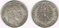 5 Mark 1876 A Preußen Preußen 5 Mark 1876 ...