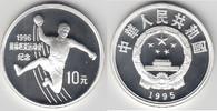 10 Yuan 1995 China China, Silbermünze Olym...