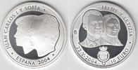 10 Euro 2004 Spanien Gedenkmünze 10 Euro, ...