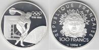 100 Francs 1994 Frankreich 100 Francs Silb...