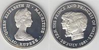 10 Rupees 1992 Mauritius Gedenkmünze  Hoch...