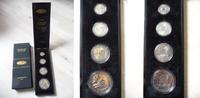 25, 50, 100 und 200 Schillings (4 Münzen 2...