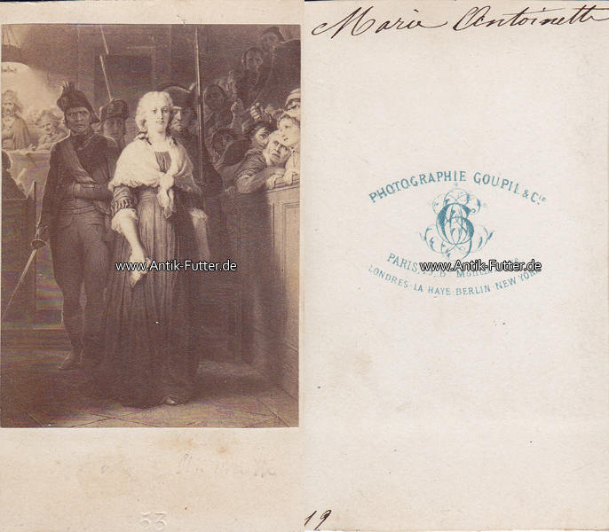 Um 1865 Frankreich Navarra Osterreich Ungarn Carte De Visite CdV Marie Antoinette Erzherzogin Von 3