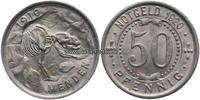 50 Pfennig 1920 Menden Notgeld Vorzüglich