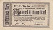 100 Millionen Mark 1.10.1923 Hagen/Westfal...