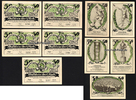 5 X 50 Pf 31.12.1921 Jena Spielvereinigung...