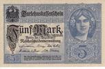 5 Mark 1.8.1917 Deutsches Reich Darlehnska...