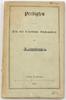 1859 Frankfurt a. M. Wilhelm Nicolan / Pr...