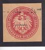 O.J. Deutsches Reich Siegelmarke / Versch...