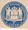 O.J. Posen Siegelmarke / Verschlussmarke ...