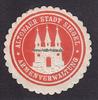 O.J. Altona/Hamburg Siegelmarke / Verschl...