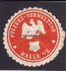 O.J. Halle an der Saale Siegelmarke / Ver...