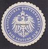 O.J. Ulm Siegelmarke / Verschlussmarke / ...