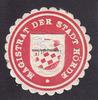 O.J. Dortmund/Hörde Siegelmarke / Verschl...