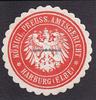 O.J. Hamburg/Harburg Siegelmarke / Versch...