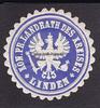 O.J. Linden Siegelmarke / Verschlussmarke...