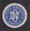 O.J. Preussen Siegelmarke / Verschlussmar...