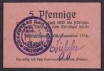 5 Pfg. 30.12.1916 Züllichau / Brandenburg ...