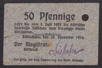 10 Pfg. 30.12.1916 Züllichau / Brandenburg...