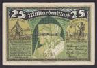 25 Milliarden Mark 25.10.1923 Bielefeld / ...
