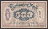 500 Mark 30.9.1922 Remscheid Stadt 3