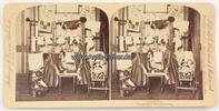 1891 New York Stereoskopie / Foto / Stroh...