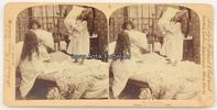 1897 New York Stereoskopie / Foto / Stroh...