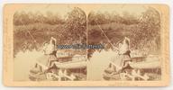 1898 New York Stereoskopie / Foto / Stroh...