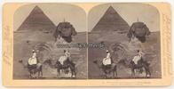 1896 Ägypten Stereoskopie / Foto / J. F. ...
