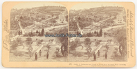 1899 Palestina Stereoskopie / Foto / J. F...