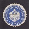 O.J. Prag/Tschechien Siegelmarke / Versch...