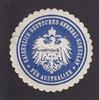 O.J. Australien Siegelmarke / Verschlussm...