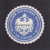O.J. Davos/Schweiz Siegelmarke / Verschlu...