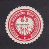 O.J. Brandenburg Siegelmarke / Verschluss...