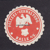 O.J. Halle a/S. Siegelmarke / Verschlussm...