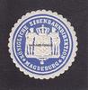 O.J. Magdeburg Siegelmarke / Verschlussma...